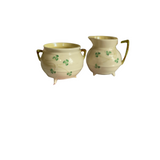 Belleek Creamer & Sugar - Shamrock