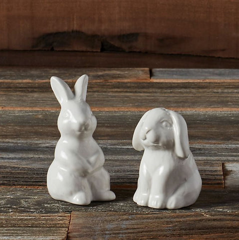 Bunny Salt and Pepper