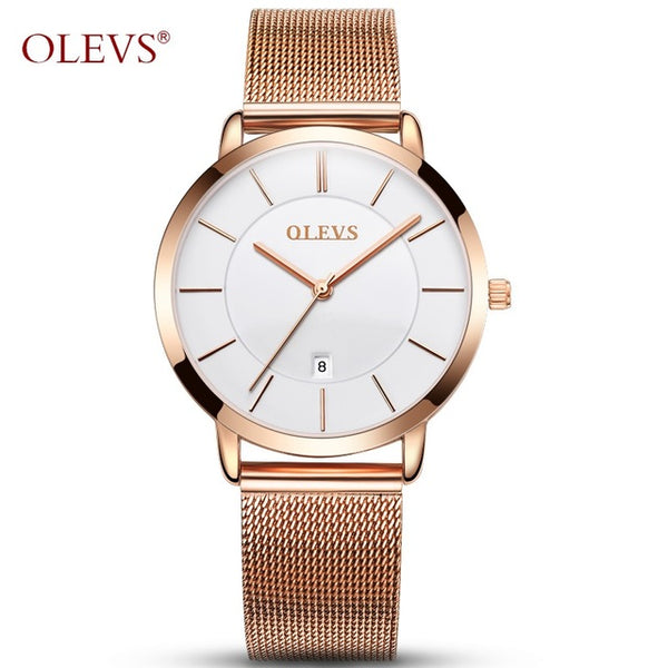 MONTRE ROSE OR OLEVS