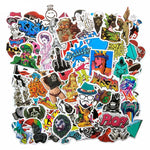 Randomly Selected Graffiti Stickers Pack - 50 stickers per pack!