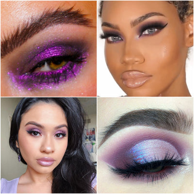 OUR 9 FAVORITE AMETHYST PALETTE LOOKS