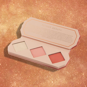 THE AMBER CRYSTAL CHARGED CHEEK PALETTE