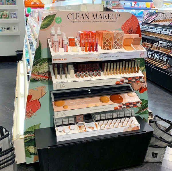 Sephora-clean-makeup-endcap