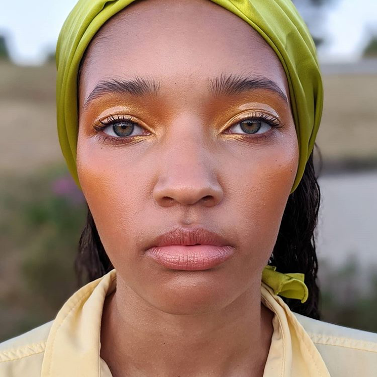 yellow-diamond-highlighter-lid-look
