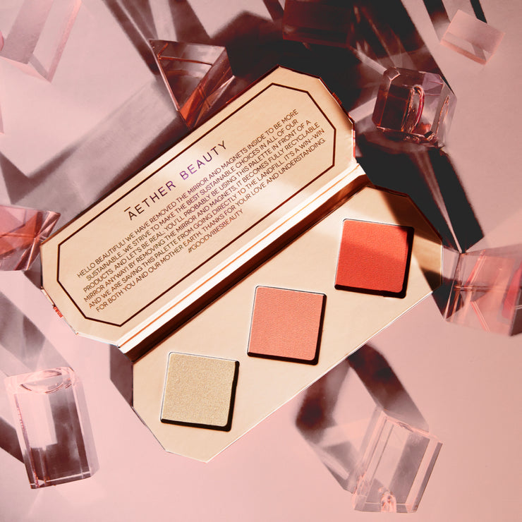 Crystal Charged Cheek Palette | Amber