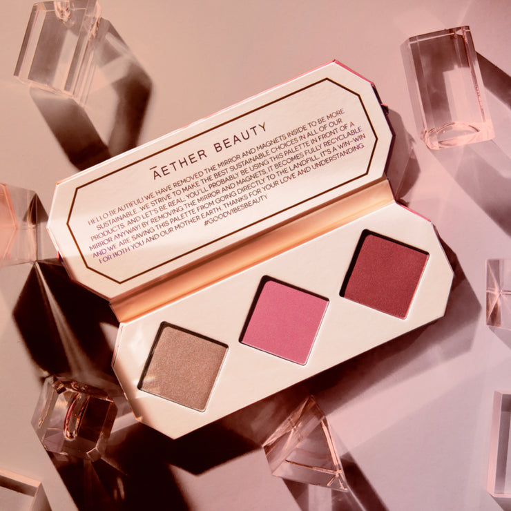 Crystal Charged Cheek Palette | Ruby