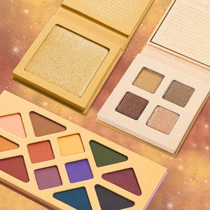 Desert Moon Eyeshadow + Highlighter Trio Set