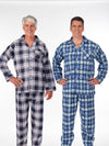 Men's flannel pajama outfit