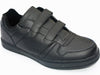 Men's leather velcro sneaker