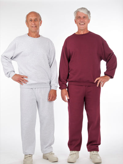 men's fleece outfit, sweatsuit, jogging suit