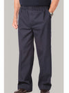 Men's elastic waist putter pants, no fly