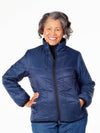 women's puffer winter jacket