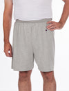 Men's gym shorts, cotton, elastic waist, drawstring