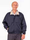 men's wind resistant jacket with ventilation