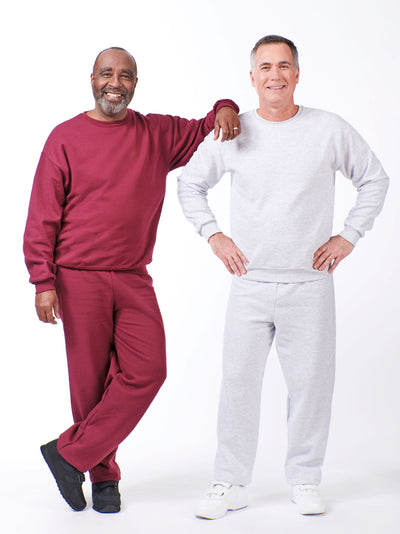 men's sweatsuits, basic fleece outfit