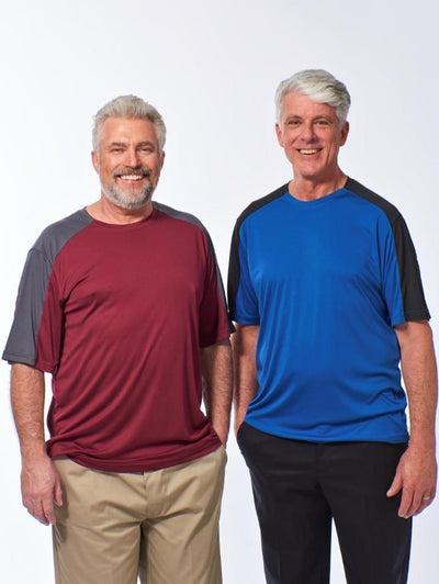 Men's Moisture Wicking Tee, Quick Dry Tee shirt