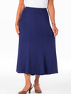 Women's elastic waist skirt