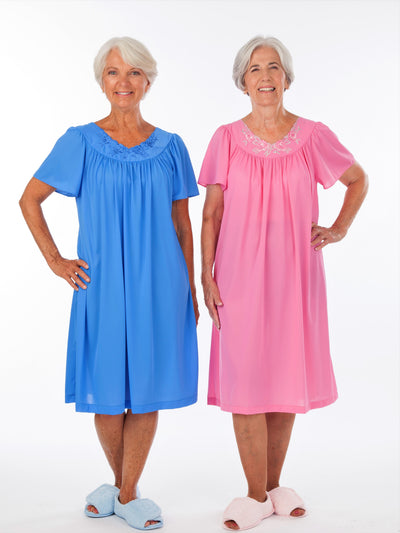 embroidered women's nightgown