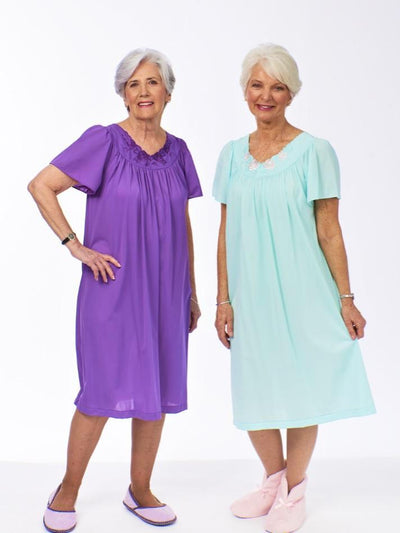 Women's Nightgown, Ladies silky gown