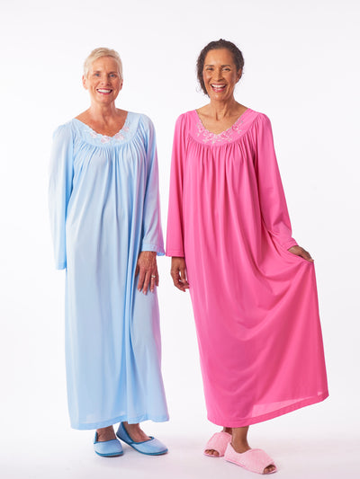 Full Length Rose Nightgown