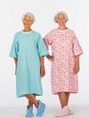 back wrap adaptive women's nightgown