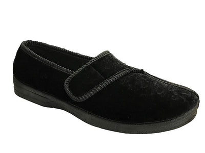 Women's velcro slipper