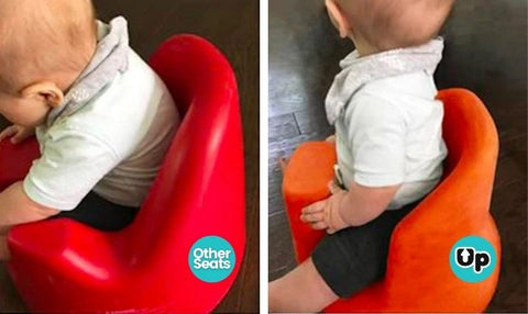 Upseat Baby Seat - Upright Posture