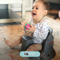 Baby Sitting Upright Using Baby Booster Chair - Upseat