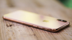 Gold iPhone XS Model