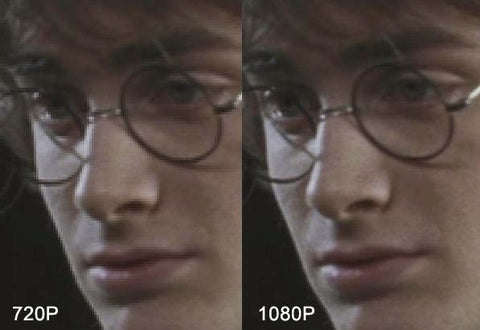 Harry Potter 720 vs 1080