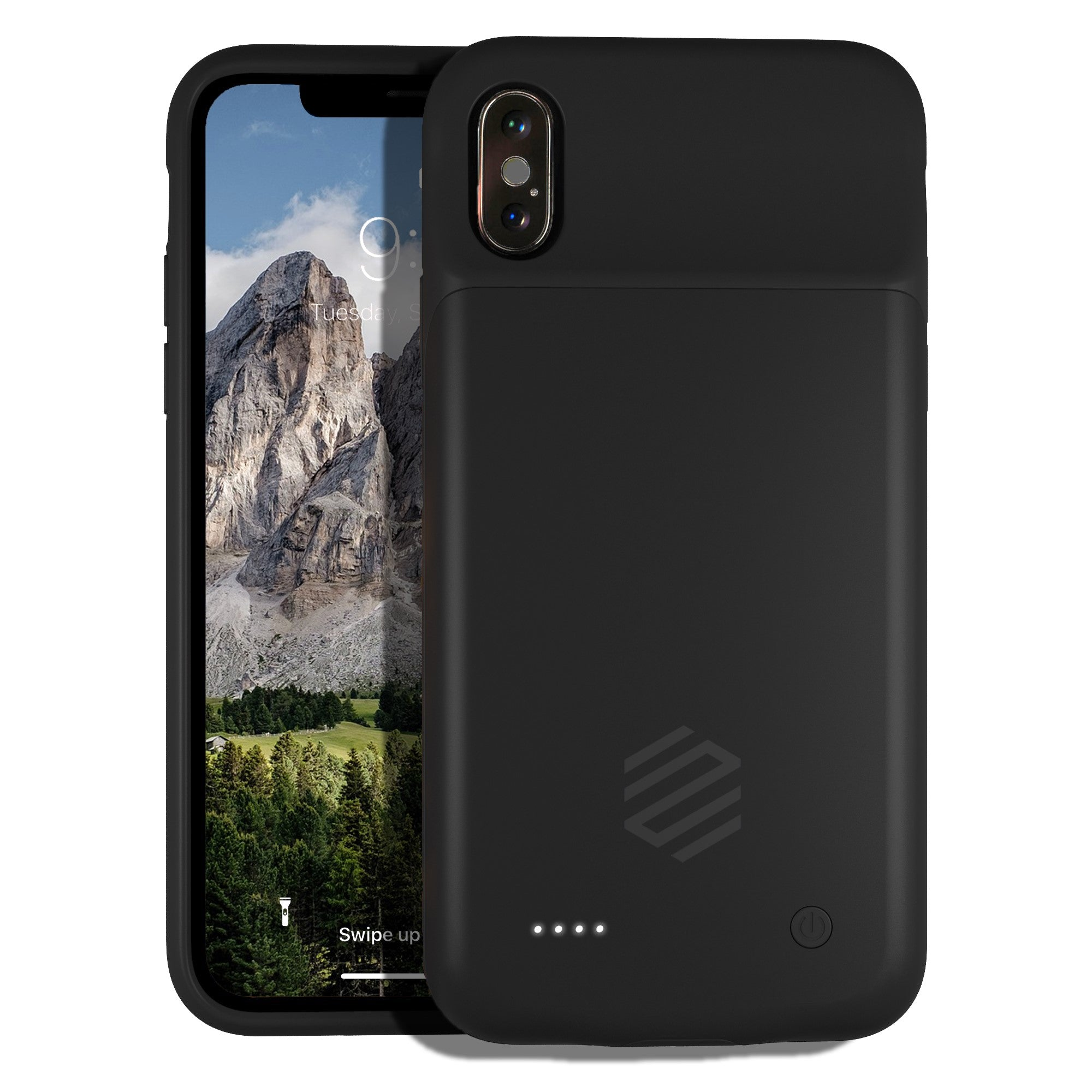 new concept 57cf3 25409 iPhone X Battery Charging Case