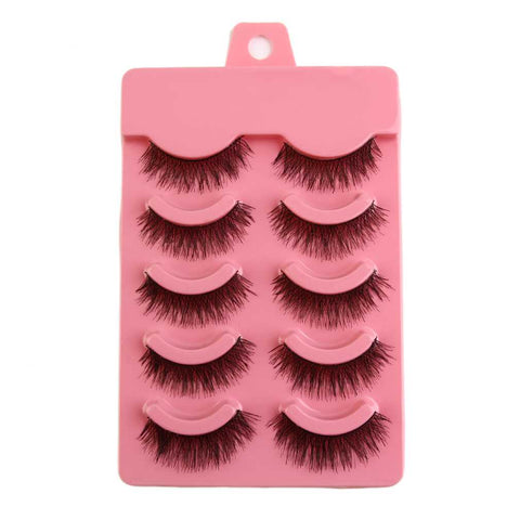 Natural Eye Lash Set