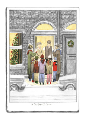 A Christmas Carol - Sketch by Leigh Lambert