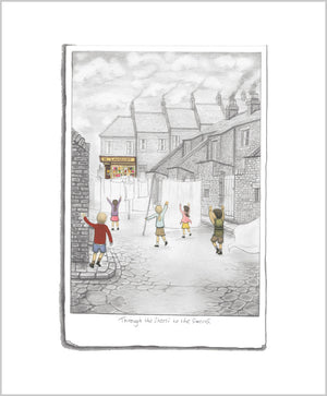 Through The Streets To The Sweets - Sketch by Leigh Lambert