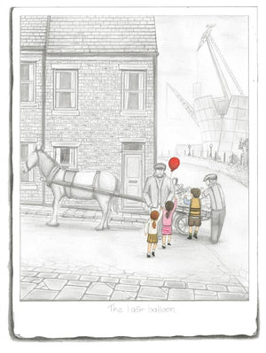 The Last Balloon - Sketch by Leigh Lambert