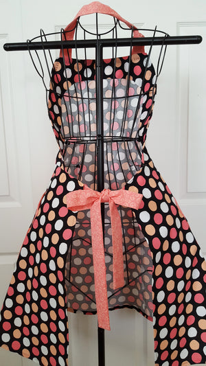 Polka Dot Retro Full Apron
