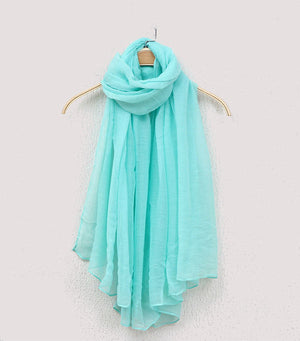 Solid Color Lightweight Scarf - 11 colors