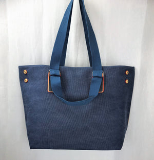 Elegant Canvas Large Travel Tote