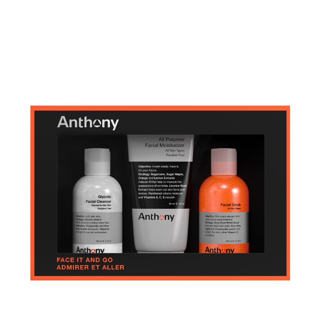 Anthony Face It & Go Kit