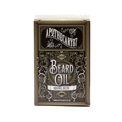 Apothecary87 Beard Oil The Original Recipe 10ml Box Front