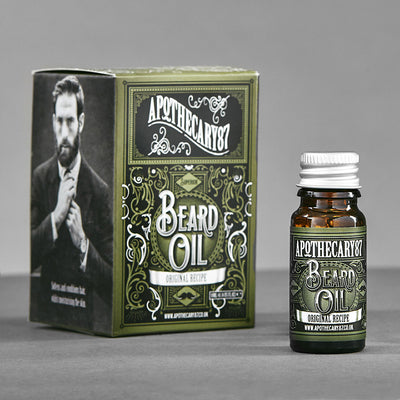 Apothecary87 Beard Oil The Original Recipe 10ml Box and Bottle