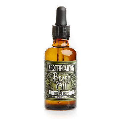 Apothecary87 Beard Oil The Original Recipe 50ml Bottle Front
