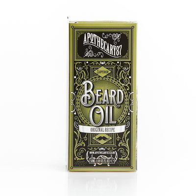 Apothecary87 Beard Oil The Original Recipe 50ml Box Front