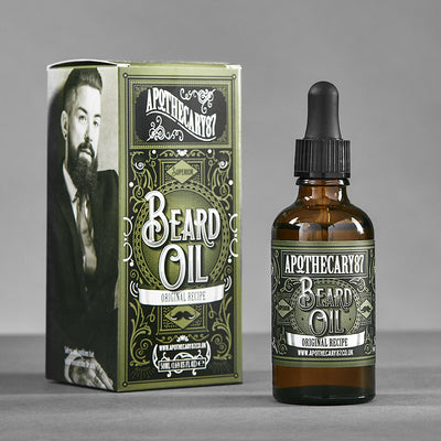 Apothecary87 Beard Oil The Original Recipe 50ml Box and Bottle