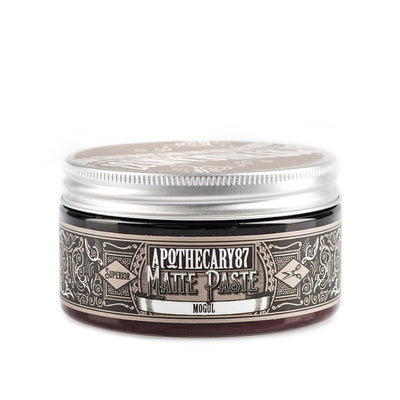 Apothecary87 Matte Paste Matte Firm Hold Hair Styling Pomade Tub Front