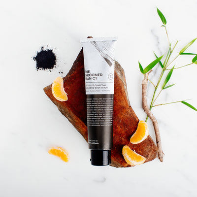 ACTIVATED CHARCOAL & BAMBOO BODY SCRUB - FleekFellows