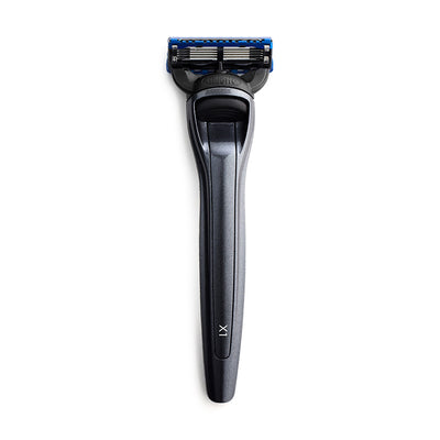 Bolin Webb X1 Fusion5 Razor Eiger Grey Top Luxury Razor