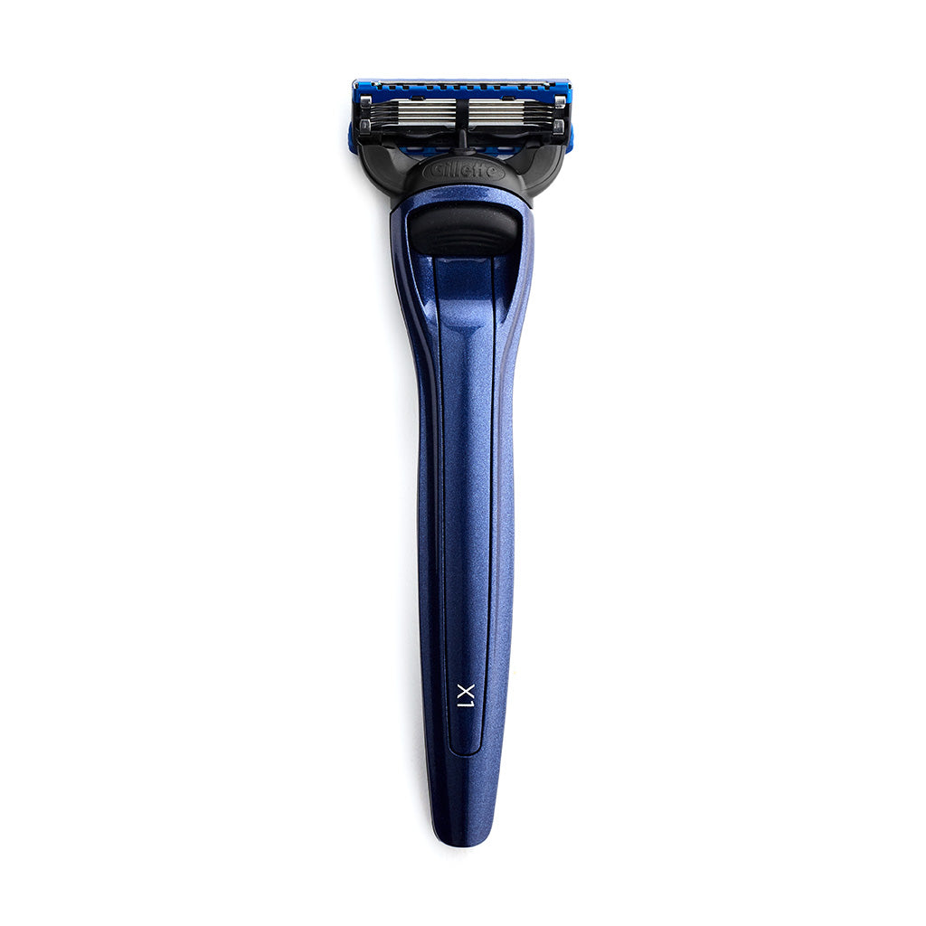 Bolin Webb X1 Fusion5 Razor Ocean Blue Top Luxury Razor