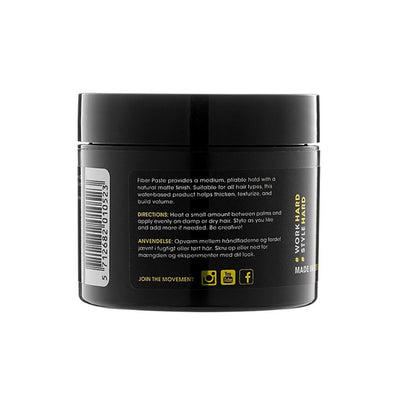 By Vilain Fiber Paste Hair Styling Wax Directions