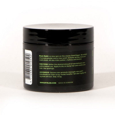 By Vilain Black Gold Just Do Me Hair Styling Wax Back